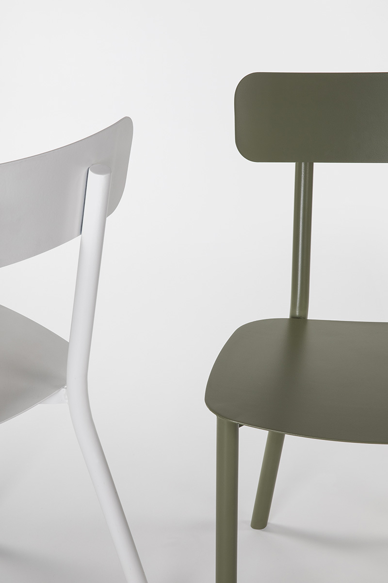 aluminium outdoor chair