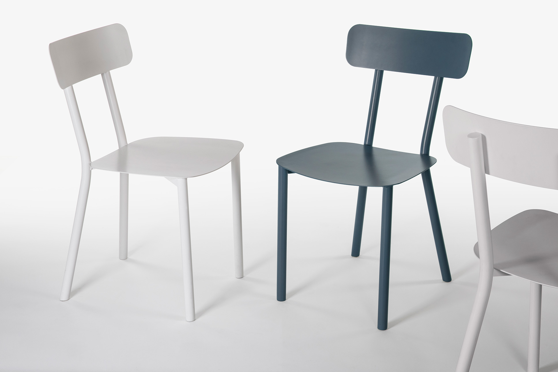 picto metal chair
