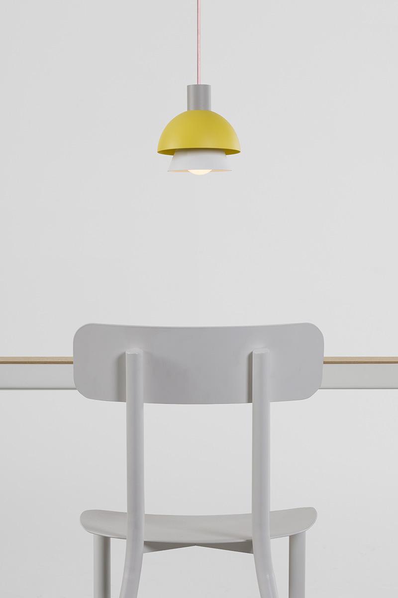 sedia design alluminio