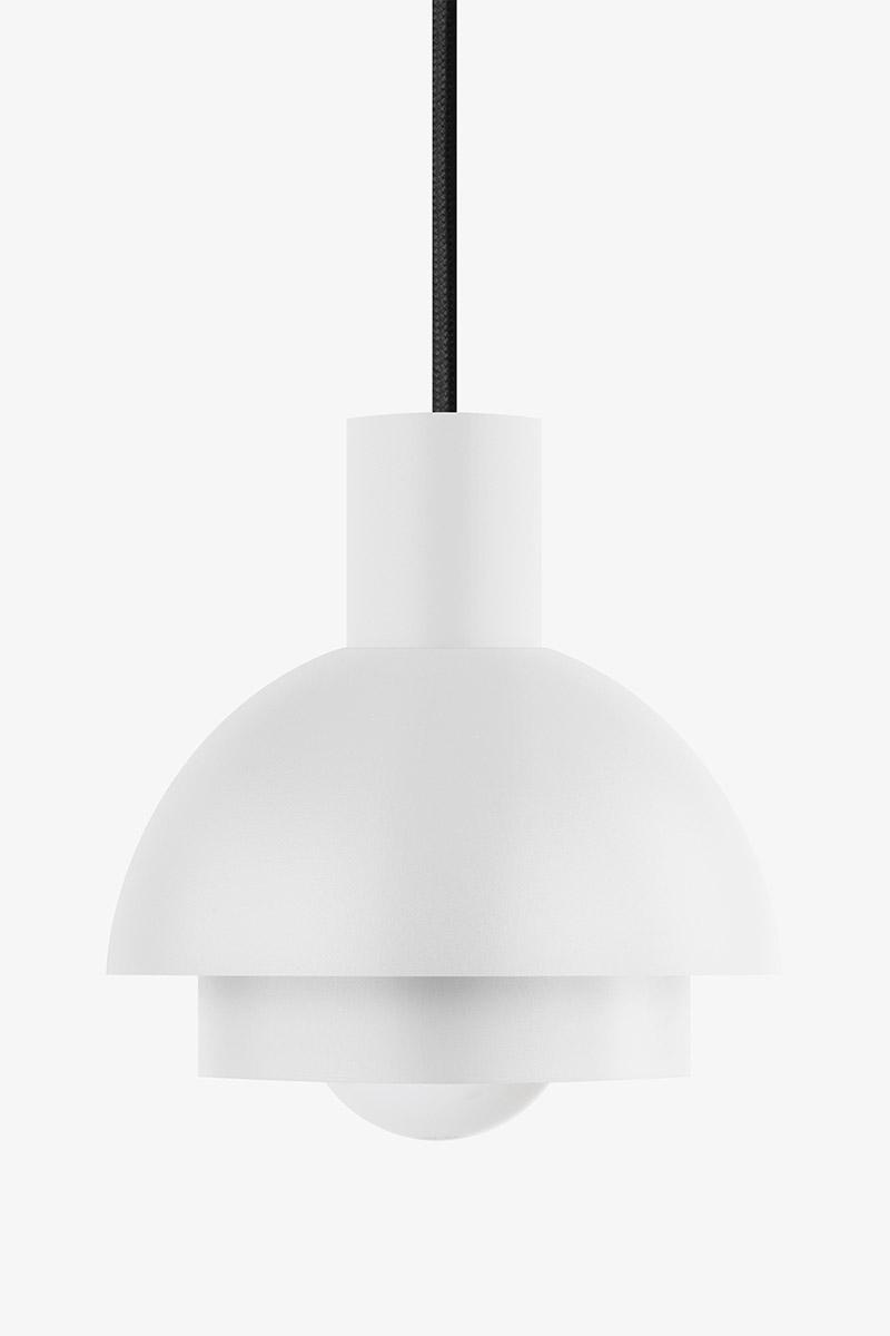 white simple elegant pendant light