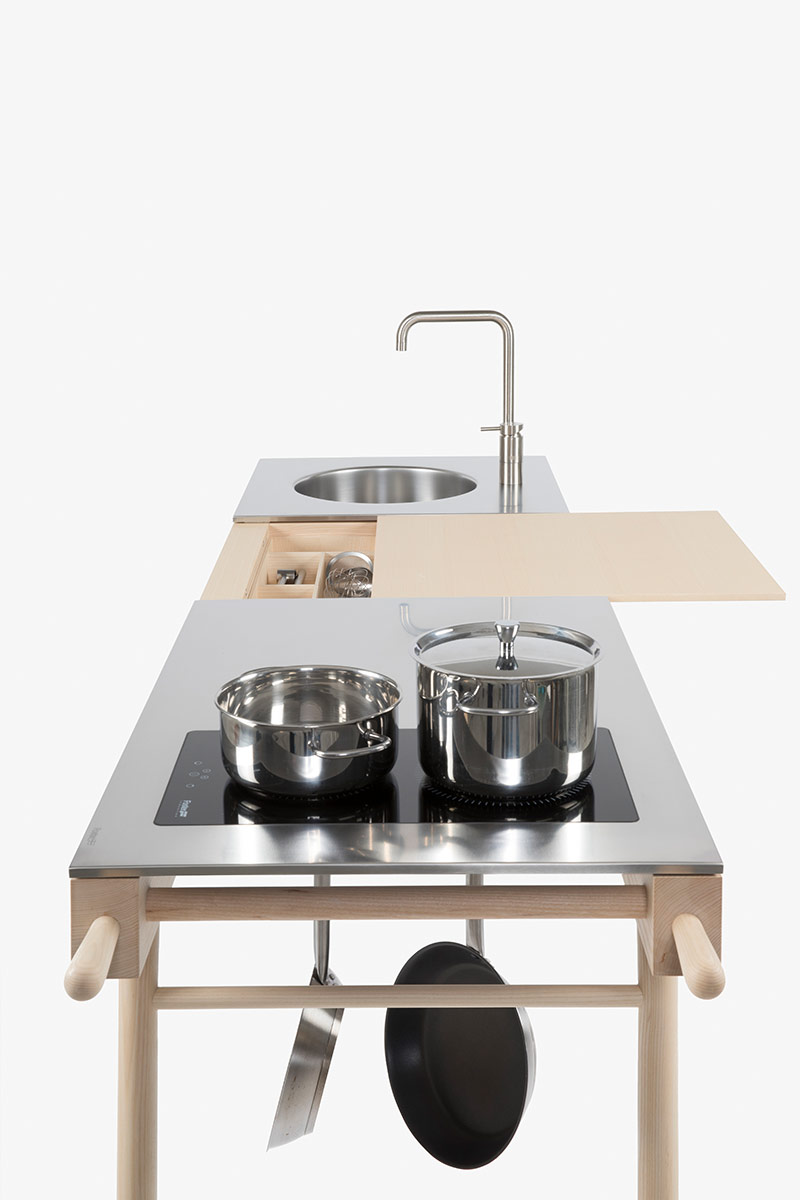 designed by Elia Mangia Critter Mobile kitchen station