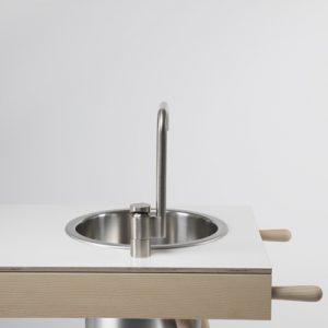 cucina isola design minimal