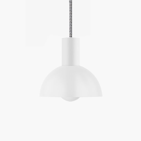 lampada alluminio bianca