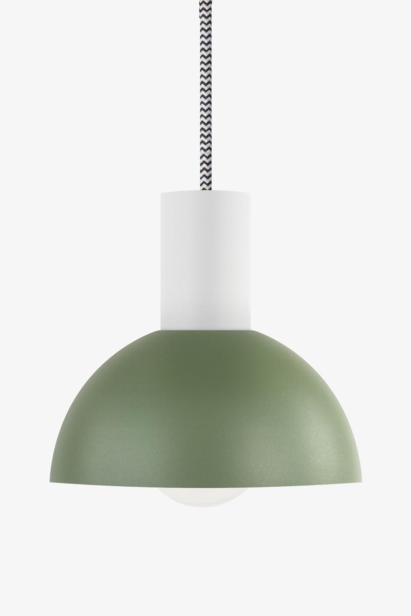 Lunatica lampada cucina verde