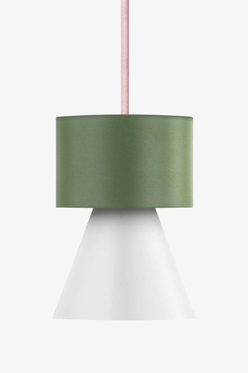 Lunatica lampada a sospensione colorata cucina