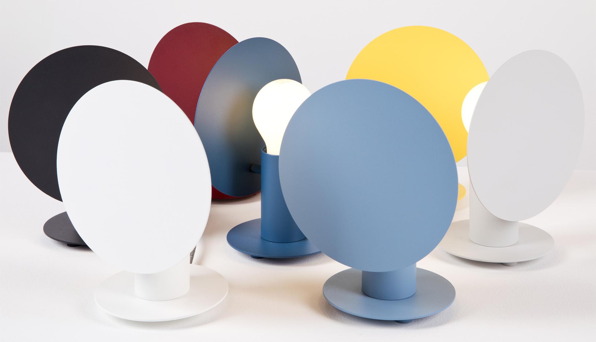 Angel collezione lampade design colorate