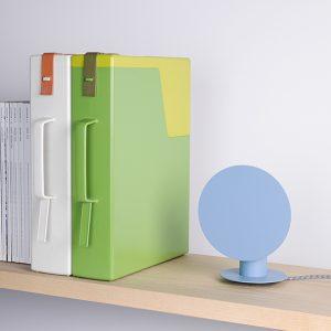lampada da tavolo moderna azzurra