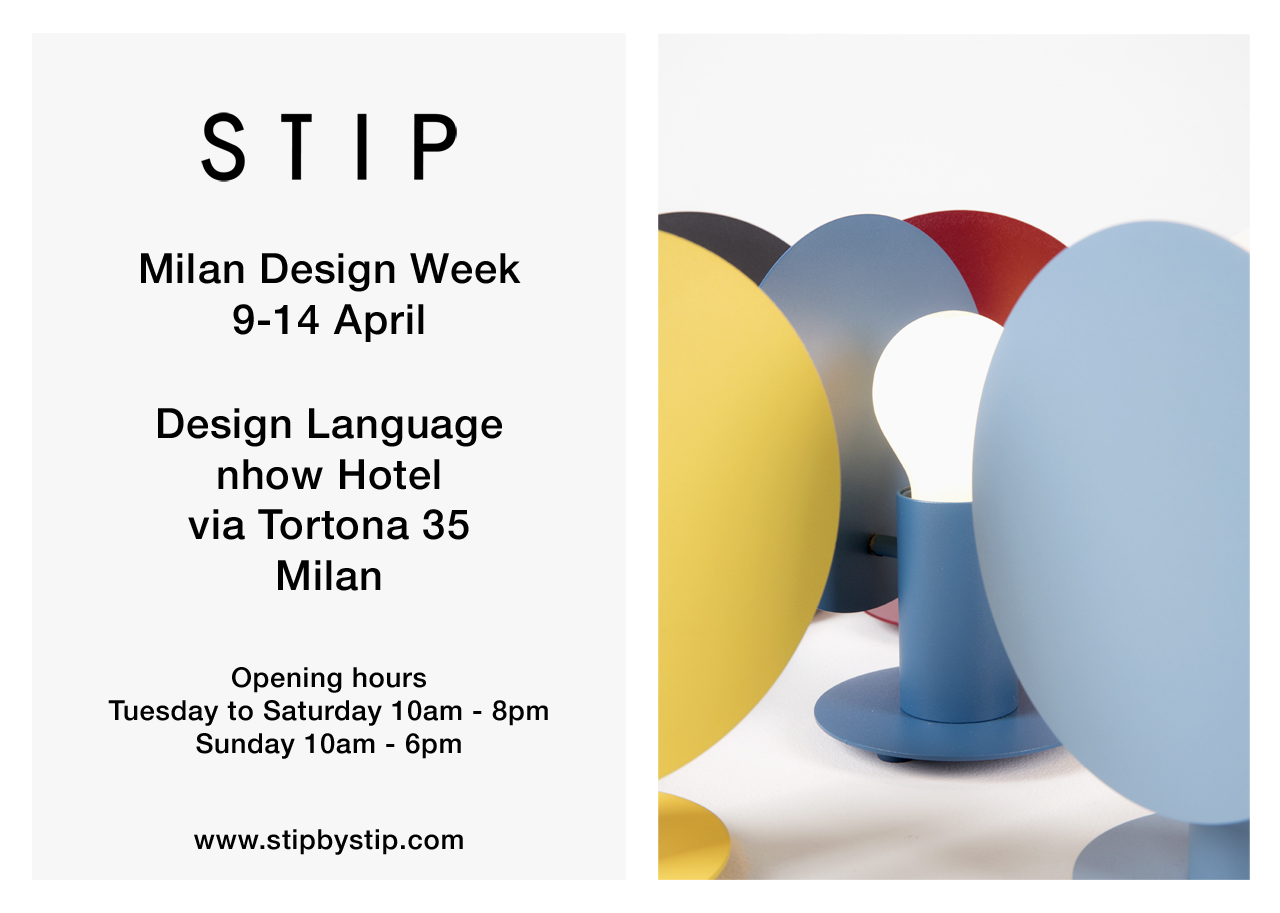 Milano design week 2019 Stip