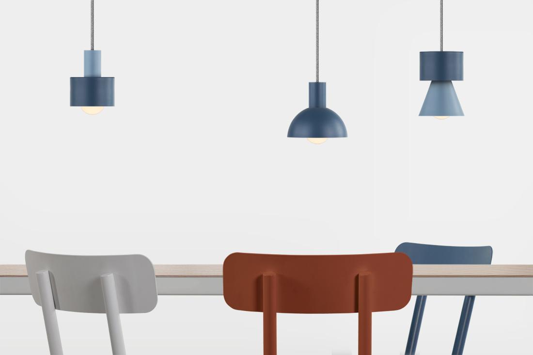 lampade a sospensione design modulari